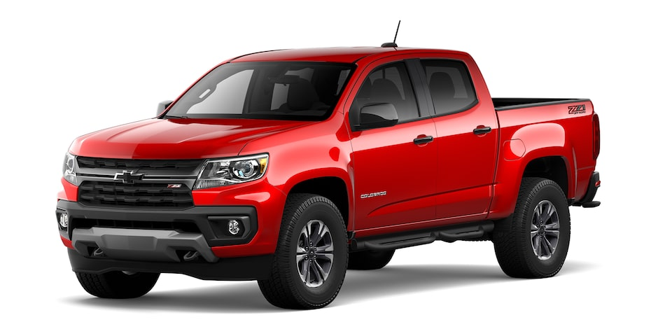 Chevrolet Colorado 2021 en color Rojo Rubí